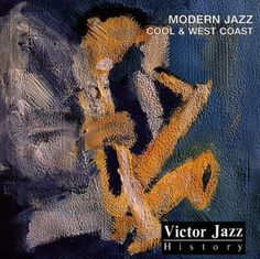 1997 Victor Jazz History Vol.13: Modern Jazz - Cool  West Coast [RCA 74321357322] cover painting by Alice Choné #albumcover