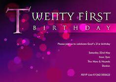Image result for 21st invitation template 21st Invitations, 40th Birthday, Rsvp, Templates, Image, Stencils, 40 Birthday, Vorlage, Models