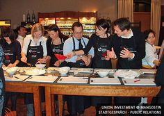 Union Investment Real Estate im Restaurant Mangostin in München