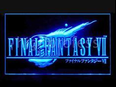 Final Fantasy VII 7 LED Ljusskylt Skylt Neon Effekt