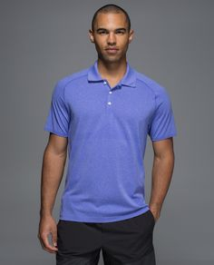 Feeling a little hot under the collar? We get it. Seamless construction, anti-stink technology and strategic venting make this a polo you won't be afraid to sweat in.