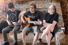 .Willie Nelson and his sons sing an acoustic version of Pearl Jam's 'Just Breathe.' http://www.wideopencountry.com/willie-nelson-sons-share-sweet-moment-sing-just-breathe/