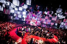 Belgian TV Music Industry Awards (MIA)s. production design uc Peumans of Painting With Light. Photos: Leke Briars http://livedesignonline.com/briefing-room/pwl-produces-cool-design-mia-awards