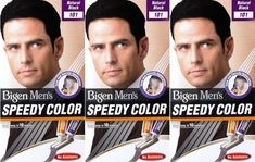 Bigen Men's Speedy Hair Colour 101 Natural Black X 3 Packs * Learn more by visiting the image link.
