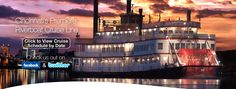 BB Riverboats. Want to do Lock and Dam tour.