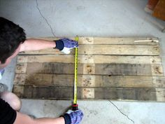 "Pallet sign ""how to"""