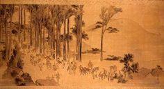 Katsushika Hokusai - Pilgrims at the Kasuga Shrine