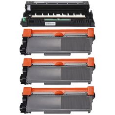 Prinko 4-pack Replacing Brother 1 by TN-650 Toner Cartridge Plus 1 by DR-620 Drum Unit