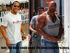 Only the rock!