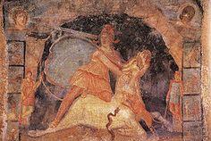 Mithras (Oudgrieks: Μίθρας / Míthras) was de god van het mithraïsme, een officiële godsdienst in het Romeinse Rijk, vooral populair bij Romeinse soldaten.