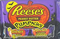 Reeses peanut butter pumpkins One way to make Reese's better? Add more peanut butter and change their shape.