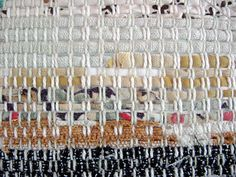 little rag weave 2 by Avalanche Looms, via Flickr