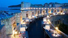Gil's Restaurant in Dubrovnik, Croatia