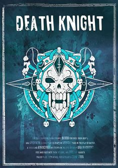 Sale World of Warcraft: Death Knight Class Symbol by SodaArcade
