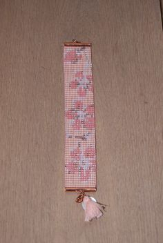 BEAU Blossom Peyote Stitch Patterns, Bead Loom Bracelets, Beading Jewelry, Tear, Loom Weaving, Seed Beads, Floral, Handmade, Arm Candies