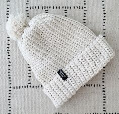 """Finnish """"hittipipo"""" pattern is available now in english. Crochet Chart, Free Crochet, Knit Crochet, Crochet Beanie, Knitted Hats, Crochet Clothes, Diy Clothes, Fondant Baby Shoes, Knitting Patterns"""