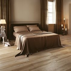 The Aequa Series is a rectified color body porcelain. It is the synthesis of digital technology applied to aesthetic research. Giving the appearance of a reclaimed wood, this series provides the warmth of timeworn matter that has taken on new colors and nuances over time. Wood Effect Floor Tiles, Wood Tile Floors, Wood Look Tile, Tile Bedroom, Room Tiles, Wall Tiles, Porcelain Wood Tile, Porcelain Ceramics, Flooring Companies