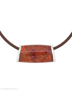 Red Delicious Necklace - Silpada Designs   $99 Shop:   mysilpada.com/dara.penello