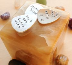 For Your Love - Personalized Guitar Pick -  Custom Guitar Pick - Personalized with Your Quote Name - Music speaks to the soul