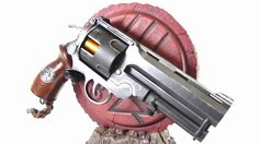 Hellboy 2 Samaritan Revolver (The Golden Army)