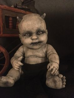 Creepy Doll, Gnosh by Adoptacreepydoll. creepy halloween creepydoll