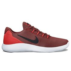 Nike LunarConverge Men's Running Shoes, Size: 10.5, Red