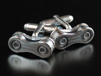 Beautiful cuff links for bike nuts  What! This is beautiful