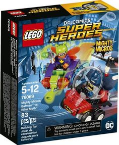76069 LEGO Super Heroes Mighty Micros: Batman vs. Killer Moth