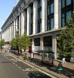 Selfridges, original Oxford Street store in London