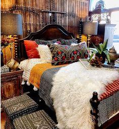 Rustic Luxe Bedroom
