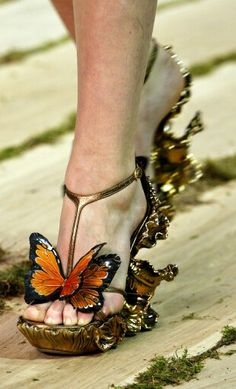 If fairies wore shoes...