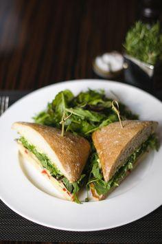 Arugula sandwich