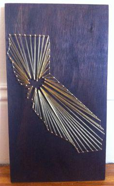 Beautiful Handmade Love California Gold Nail by CoraTheExplora
