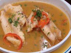 Platos típicos de Piura: El sudado de mariscos o cachema
