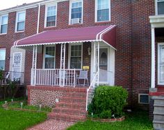 Aluminum Awnings Baltimore & Prince Georges County MD   Washington DC