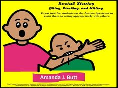 Social stories are a great tool for using with students on the Autism Spectrum. Students with Autism are known to think in pictures. Using a Social Story with pictures will help the student to visualize and comprehend what he is being told. A Social Story assists a student in understanding concepts of daily life situations.