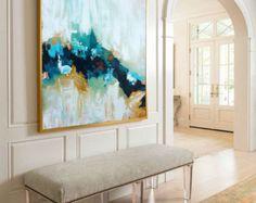 Hand Painted Large Original Painting Abstract por ObaidAbstractArt
