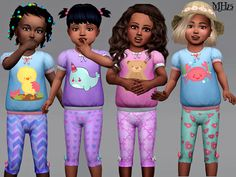 The Sims Resource: Toddler Outfit by Margeh-75 • Sims 4 Downloads
