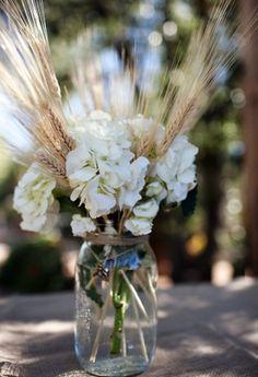 Bouquet de fleurs rustique