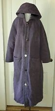 Vtg Hippie Festival Tribal Long Duster Hooded Coat Jacket Buttons Cheppu Nepal M