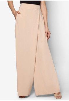 Wrap Palazzo Pants from Zalia in Modest Fashion, Hijab Fashion, Diy Fashion, Fashion Dresses, Womens Fashion, Fashion Design, Wrap Pants, Dress Tutorials, Linen Skirt