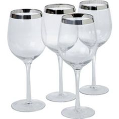 Buy Heart of House Savoy 4 Piece Wine Glass Set at Argos.co.uk - Your Online Shop for Glasses.