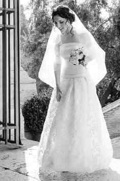 La fantastica foto della nostra sposa Porzia! www.cinziaferri.com