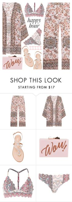 """""""Happy Hour"""" by shoaleh-nia on Polyvore featuring Frogbox, Aquazzura, Ted Baker and River Island"""