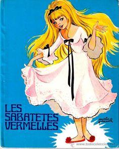 LES SABATETES VERMELLES ( ILUSTRACIONES COLOR DE MARIA PASCUAL ) (Libros de Lance - Literatura Infantil y Juvenil - Otros)