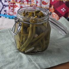 Spicy, Picked Green Beans Recipe