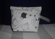 Sheepy project bag / pouch
