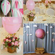 Baloon centerpiece Flower Decorations, Table Decorations, Bouquets, Centerpieces, Flowers, Furniture, Home Decor, Speech Balloon, Meet