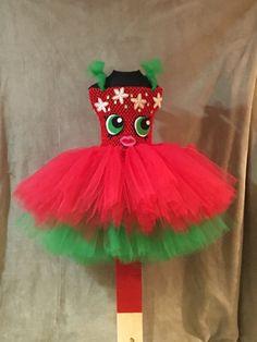 Strawberry Kiss Tutu Dress Shopkin. Kiss Costume, Tutu Costumes, Kids Dress Up, Girls Party Dress, Strawberry Costume, Halloween Kids, Halloween Tutus, Christmas Tutu Dress, Tulle Crafts