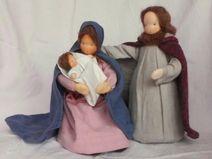 Maria Josef Jesus Krippefiguren Heilige Familie...